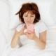 Cute Young Teenager Girl in Bed Taking Photos with Mobile Phone - VideoHive Item for Sale