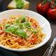 Pasta Spaghetti with Tomato Sauce - PhotoDune Item for Sale