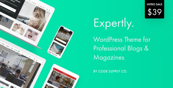 Image of Expertly - WordPress Blog & Magazine Theme for Professionals