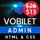 Vobilet – Responsive Bootstrap 4 Admin Dashboard Template. - ThemeForest Item for Sale