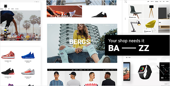Bazz - A Modern Multi-Concept WooCommerce Theme - WooCommerce eCommerce