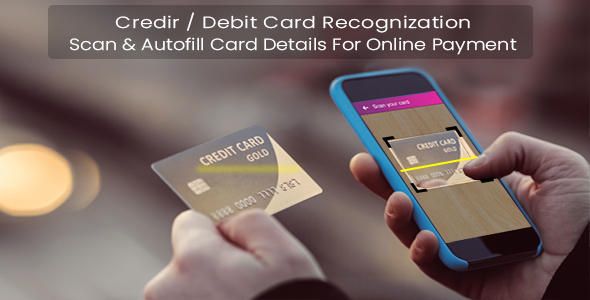 Credit / Debit Card Recognition            Nulled
