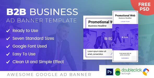 B2B | Business HTML 5 Animated Google Banner            Nulled