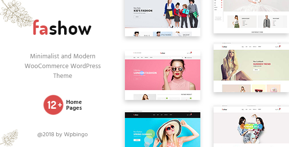 Image of Fashow - Minimal and Modern WooCommerce Fashion Theme