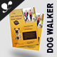 Dog walker Flyer Templates - GraphicRiver Item for Sale