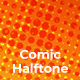 Comic Halftone Backgrounds - GraphicRiver Item for Sale