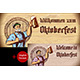 Beer Glass Foam Rising Hand Oktoberfest Wood Background Copyspace Flyer - GraphicRiver Item for Sale