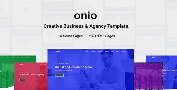 Onio - Creative Business & Agency Template
