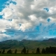 Blue Sky Is Being Tightened By Thunderous Dark Clouds - VideoHive Item for Sale