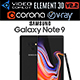 Samsung GALAXY Note 9 Midnight Black - 3DOcean Item for Sale