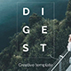 Digest Premium Project Powerpoint Template - GraphicRiver Item for Sale