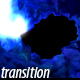 Blue Fireball Transition - VideoHive Item for Sale