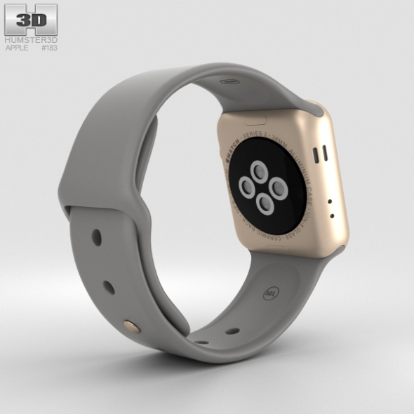 5837eb704 Apple Watch Series 2 38mm Gold Aluminum Case with Concrete Sport Band 590 0001.jpg  ...