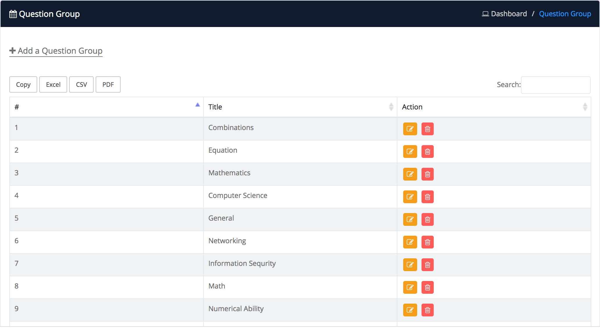 iTest - Complete Online Examination System
