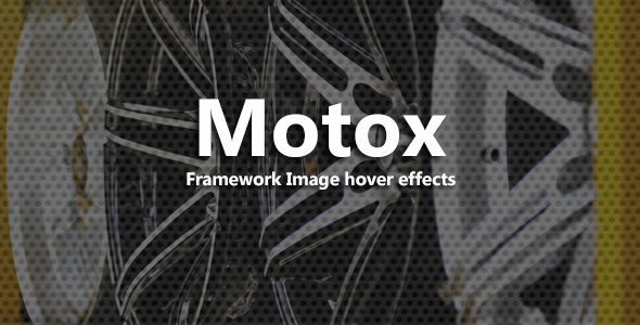 Motox - CSS3 Image Hover Effects - CodeCanyon Item for Sale