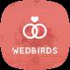 Wedbirds - Wedding Invitation HTML5 Template - ThemeForest Item for Sale