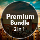 Premium Bundle 2 in 1 Presentation - GraphicRiver Item for Sale