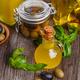 Glass bottles of olive oil - PhotoDune Item for Sale