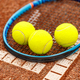 Tennis racket and balls - PhotoDune Item for Sale