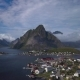 Aerial View of Hamnoy Village in Norway - VideoHive Item for Sale