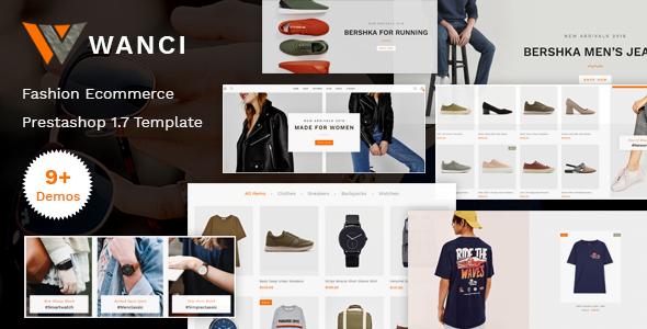 Wanci - Responsive Fashion Prestashop Theme - Fashion PrestaShop