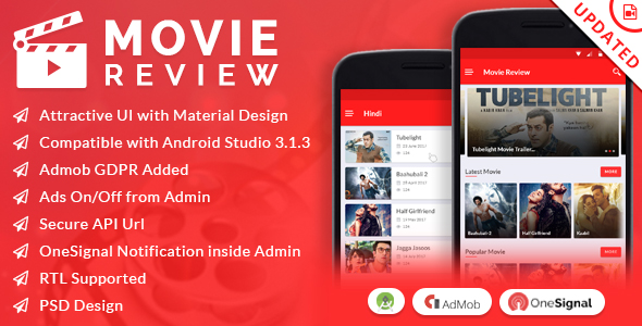Movie Review App - CodeCanyon Item for Sale