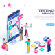 Software Testing Services Banner - GraphicRiver Item for Sale