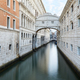 Bridge of Sighs and calm water in the canal, nobody in Venice - PhotoDune Item for Sale