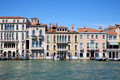 Venice ancient buildings facades and the grand canal, Italy - PhotoDune Item for Sale