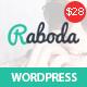 Raboda - eCommerce Responsive WordPress Theme - ThemeForest Item for Sale
