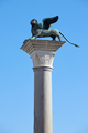 San Marco winged Lion statue on column, symbol of Venice - PhotoDune Item for Sale