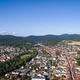 Aerial drone birds eye view photo european village - PhotoDune Item for Sale