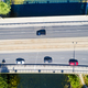 Cars moving on the bridge aerial top view - PhotoDune Item for Sale
