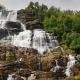 The Stepped Waterfall of the Twindorfensen Is Norway's Highest Waterfall - VideoHive Item for Sale