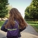 A Girl Running with a School Bags - VideoHive Item for Sale