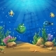 Cartoon Fish in Underwater World - GraphicRiver Item for Sale