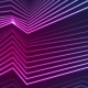 Blue Ultraviolet Neon Curved Lines Video Animation - VideoHive Item for Sale
