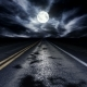 Driving Down a Night Road Loop - VideoHive Item for Sale