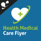 Health Medical Care - Corporate Flyer - GraphicRiver Item for Sale