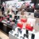 defocus shot of handbags on shelf - PhotoDune Item for Sale
