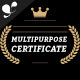 Multipurpose certificate - GraphicRiver Item for Sale