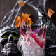 Original cocktail in a glass tube for Halloween party - PhotoDune Item for Sale