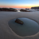 Pond on the beach of As Catedrais - PhotoDune Item for Sale