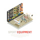 Sport Equipment Isometric Composition - GraphicRiver Item for Sale