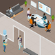 Office Business Meeting Isometric Illustration - GraphicRiver Item for Sale