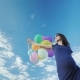 Pregnant Woman Having Fun Against the Blue Sky - VideoHive Item for Sale