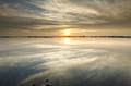 beautiful sunset over lake - PhotoDune Item for Sale