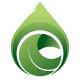 Ecological Leaf Symbol Logo