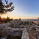 Ruins of ancient village in Archaeological site of Aliki. Thassos island, Greece - PhotoDune Item for Sale
