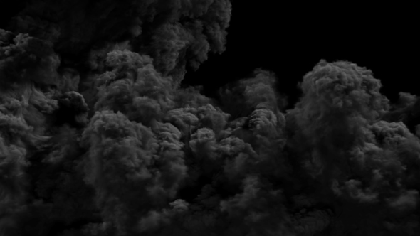 Dark Smoke Transitions By 3D_Background